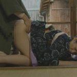 【ヘンリー塚本・酒井ちなみ】昭和の旧家の色っぽい28才の手伝婦-息子を誘惑してチンポをしゃぶり旦那様には後ろから